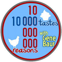 10 000 Tastes, 10 Billion Reasons logo