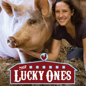 Jenny from the 'Stock: Jenny Brown tells the story of the Woodstock Farm Animal Sanctuary in <em>The LuckyOnes</em>