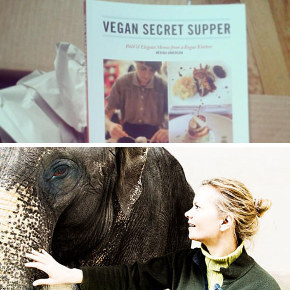Hosting Vegan Secret Suppers with Mérida Anderson / Patricia Sims' New Documentary <em>Elephants Never Forget</em>
