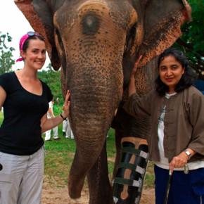 Soraida Salwala and Windy Borman on Helping Elephants and Fighting Landmines