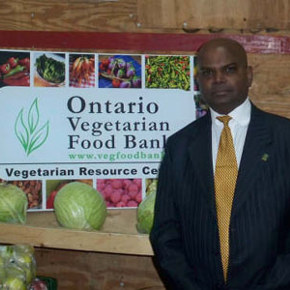 Catching Up With Malan Joseph of the Ontario Vegetarian FoodBank