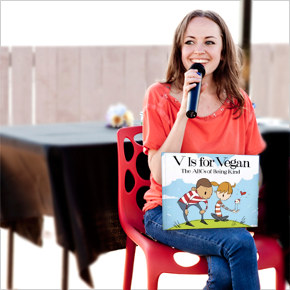 V is for Vegan: Author Ruby Roth Teaches the ABCs of Kindness toAnimals